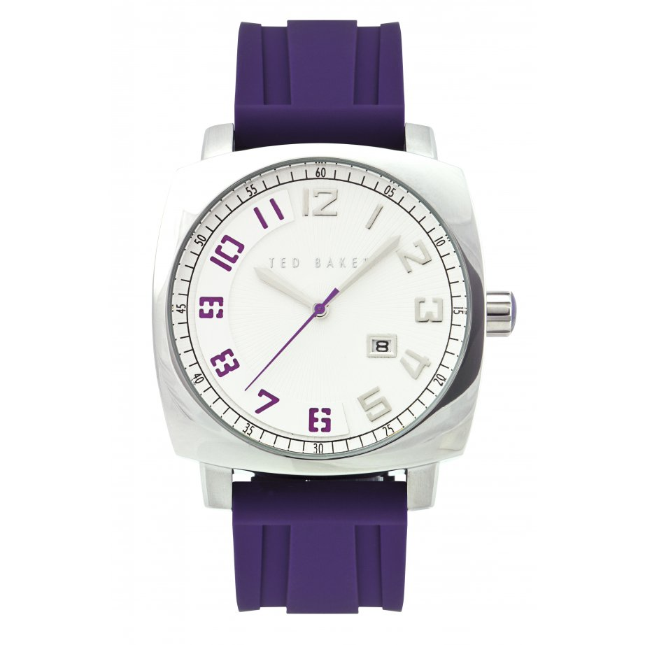 ted baker te1049 mens purple silicon