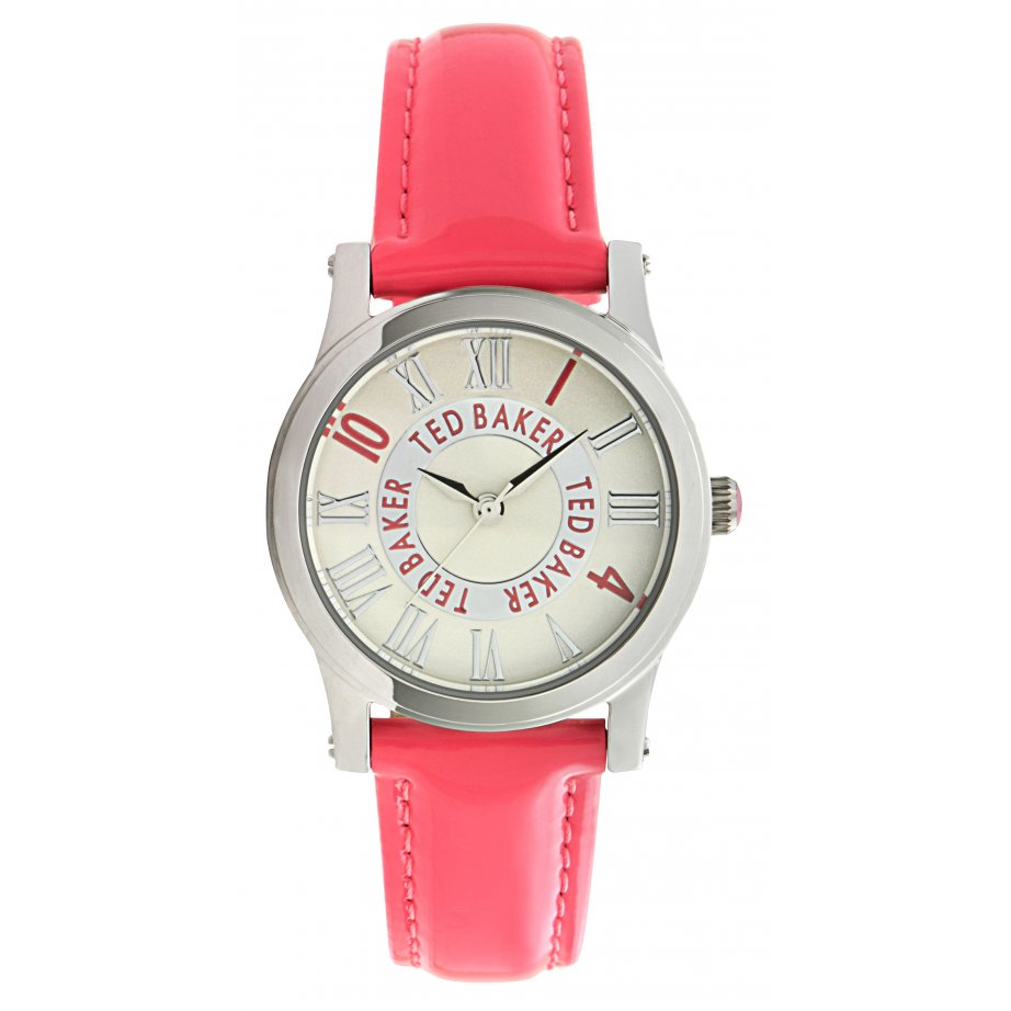 ted baker watches te2070 s pink leather from