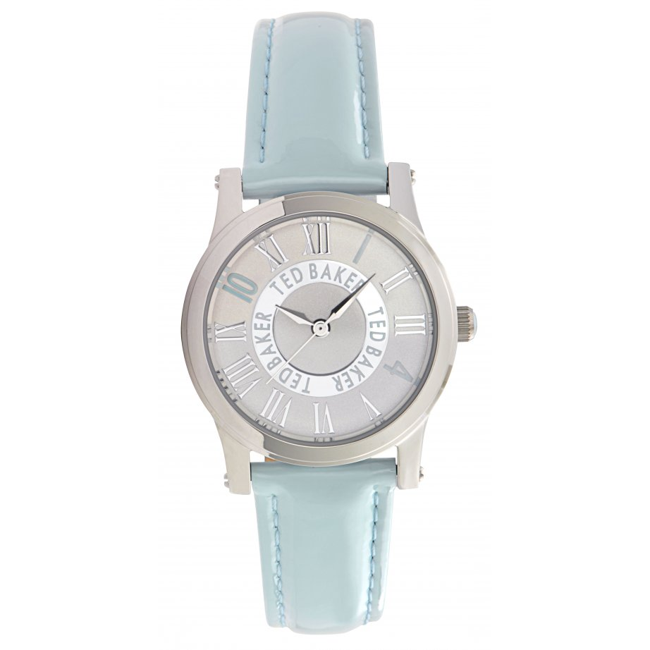 ted baker watches te2071 s baby blue leather from