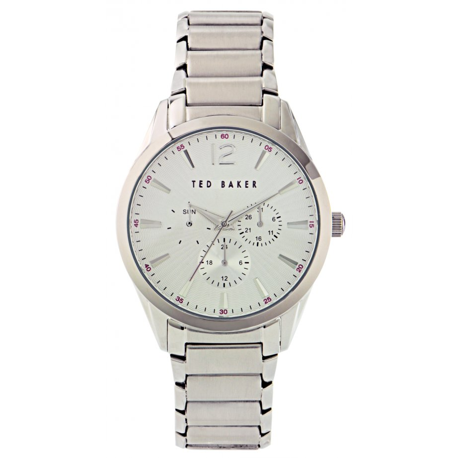 ted baker te3025 mens stainless silver chronograph
