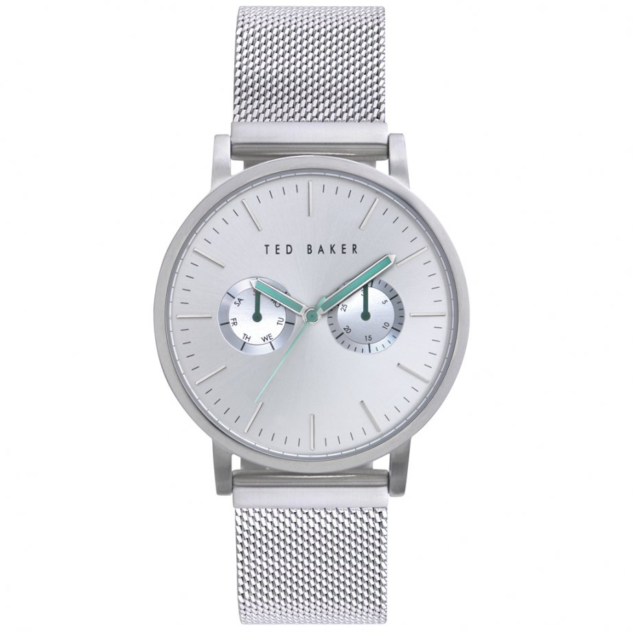 ted baker watches te3037 s silver stainless steel mesh