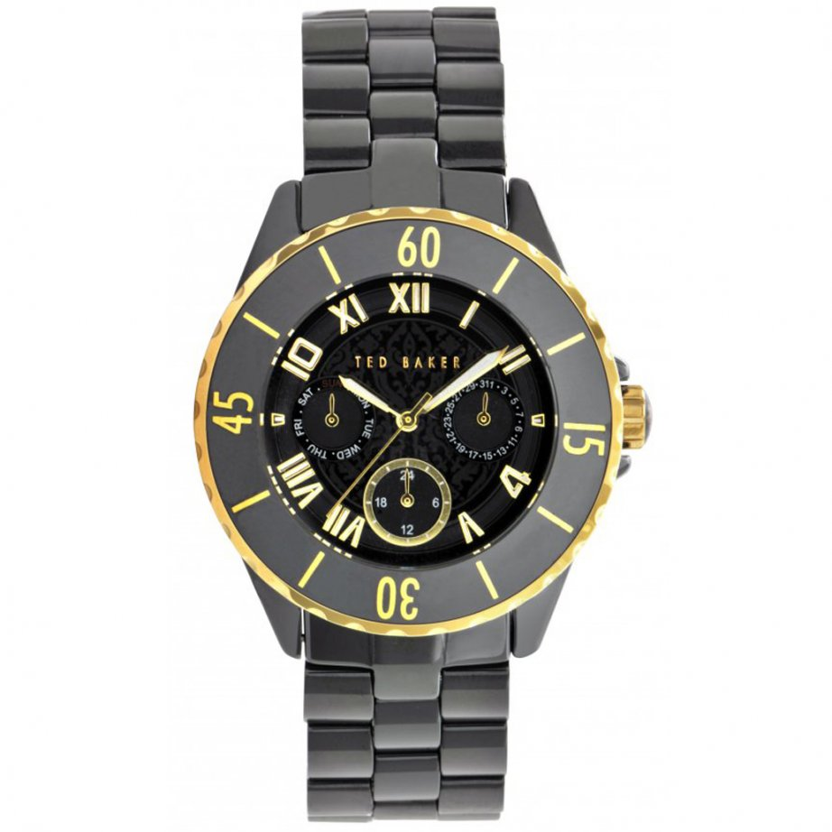 ted baker watches te4057 women s black ceramic from