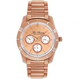 Ted Baker TE4084 Ladies Rose Gold Watch
