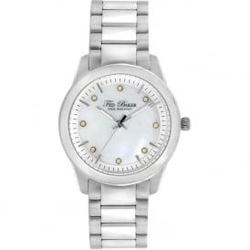 Ted Baker TE4086 Ladies Silver Stainless Steel Watch