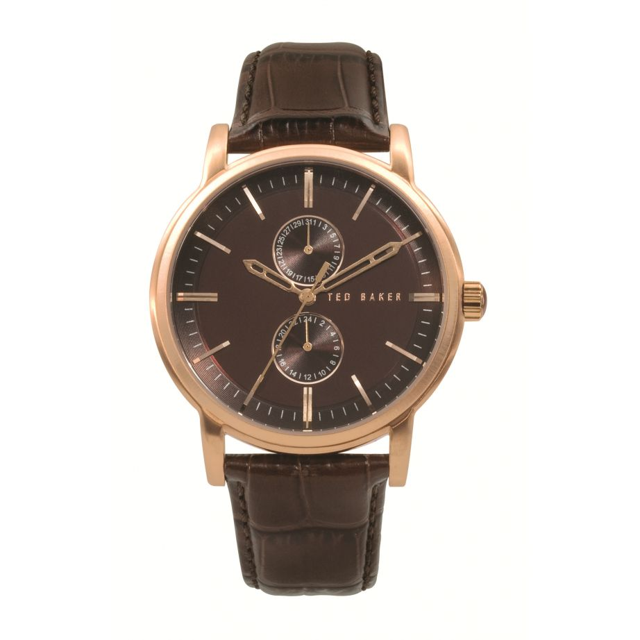 Ted baker watch te1013 mens brown leather buy ted baker watch te1013 ted baker watch te1013 uk for Leather watch for men