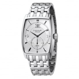 ES-8009-22 Robinson Silver Stainless Steel Automatic Men's Watch