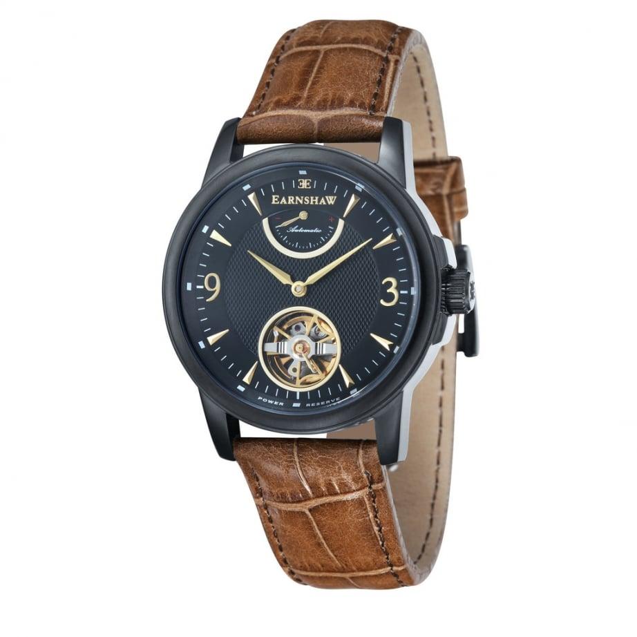 earnshaw es 8014 08 flinders black brown leather
