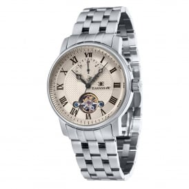 ES-8042-11 Westminster Grey & Silver Stainless Steel Automatic Men's Watch
