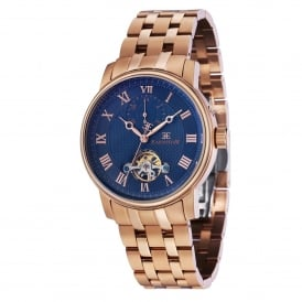 ES-8042-33 Westminster Blue & Rose Gold Stainless Steel Automatic Men's Watch