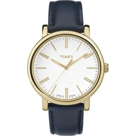 Timex Originals TW2P63400 Women's Blue Leather Watch