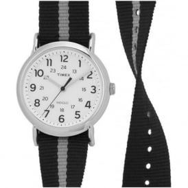 Timex Originals TW2P72200 Black Grey & Stainless Steel Analogue Watch
