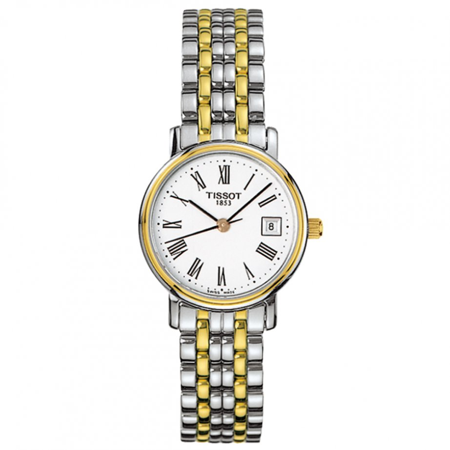tissot t52 2 281 13 silver and gold cheapest