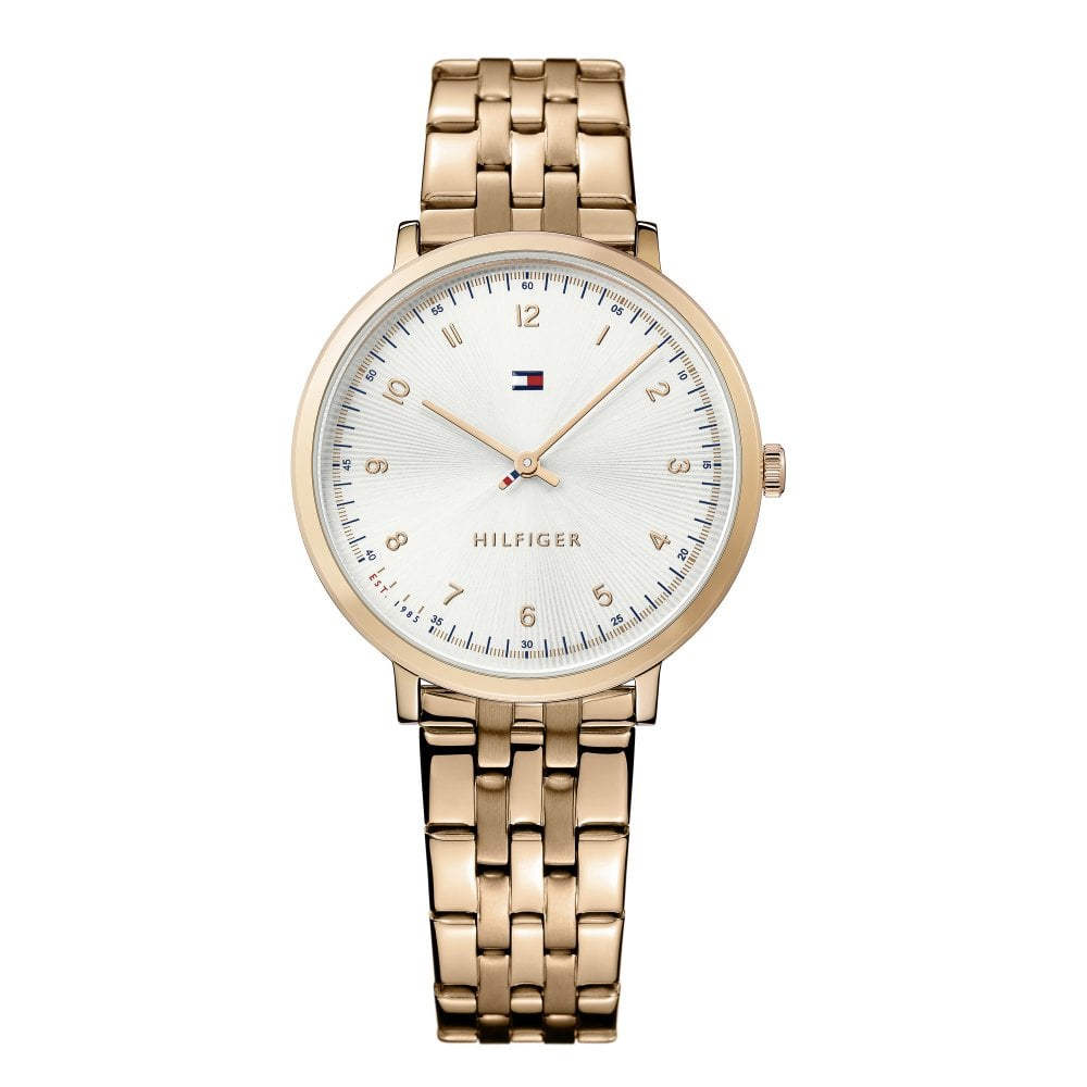 51e3dfb9 Tommy Hilfiger Tommy Hilfiger 1781760 Sloane Rose Gold Ladies Watch