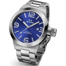 TW Steel CB11 Canteeen Bracelet 45mm Blue Stainless Steel Watch