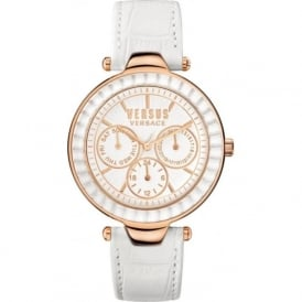Versus Versace SOS030015 Womens White Leather Watch