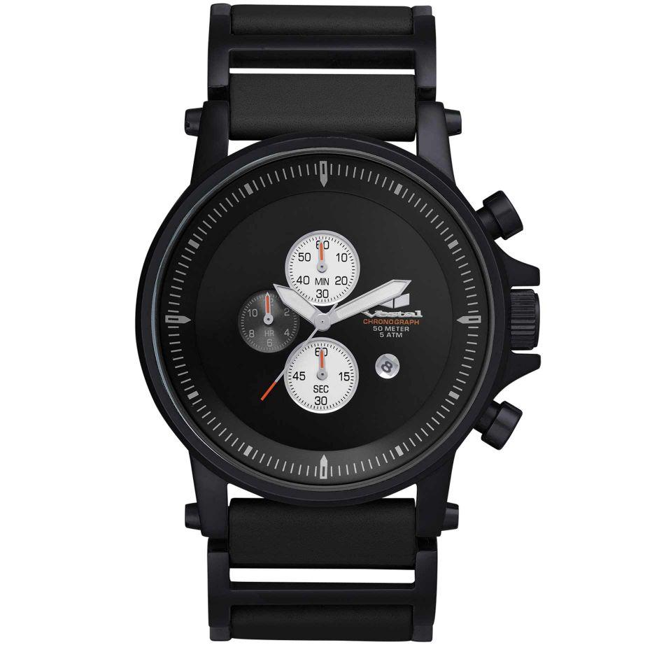 vestal plexi chronograph black ple001 buy vestal