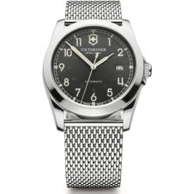 241587 Infantry Stainless Steel Mesh & Black Dial Automatic Watch