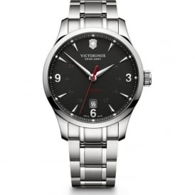 241669 Alliance Stainless Steel & Black Dial Automatic Watch
