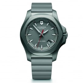 Victorinox Swiss Army 241757 I.N.O.X. Titanium Grey Rubber Men's Watch