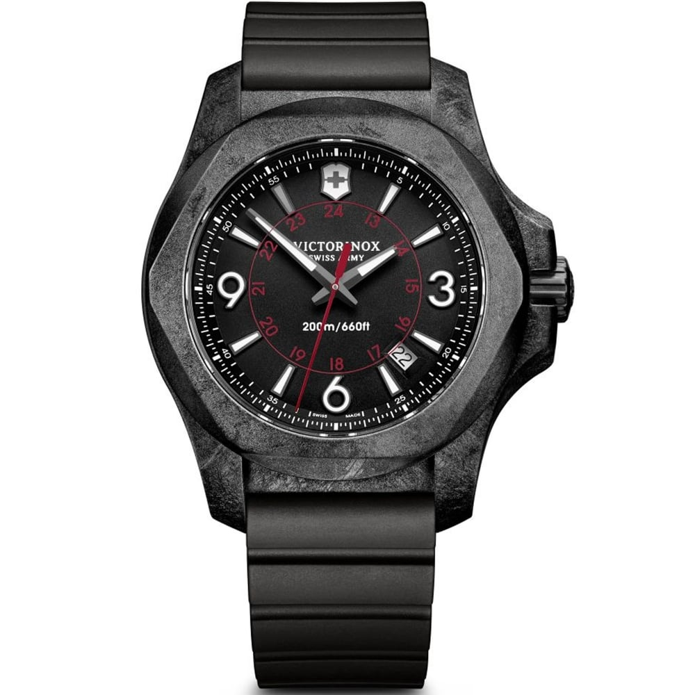 watches x black o men i s inox professional n watch victorinox victor diver dial