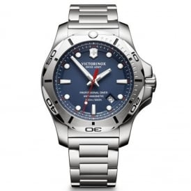 241782 I.N.O.X Professional Diver Blue & Silver Stainless Steel Men's Swiss Watch