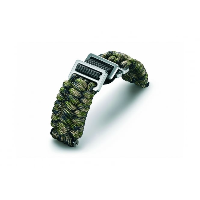 Victorinox Swiss Army V.60023 I.N.O.X. Accessories Green Camo Paracord Fabric Strap