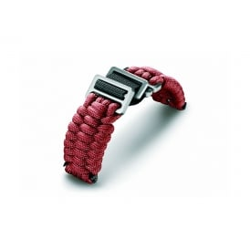 V.60024 I.N.O.X. Accessories Red Paracord Fabric Strap