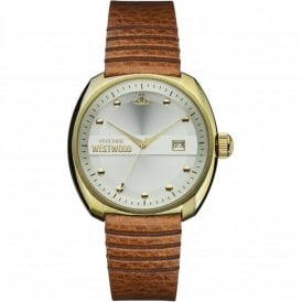 VV080SLTN Bermondsey Gold & Tan Leather Men's Watch