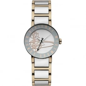 Vivienne Westwood VV089RSSL Sudbury Rose Gold & Silver Stainless Steel Ladies Watch