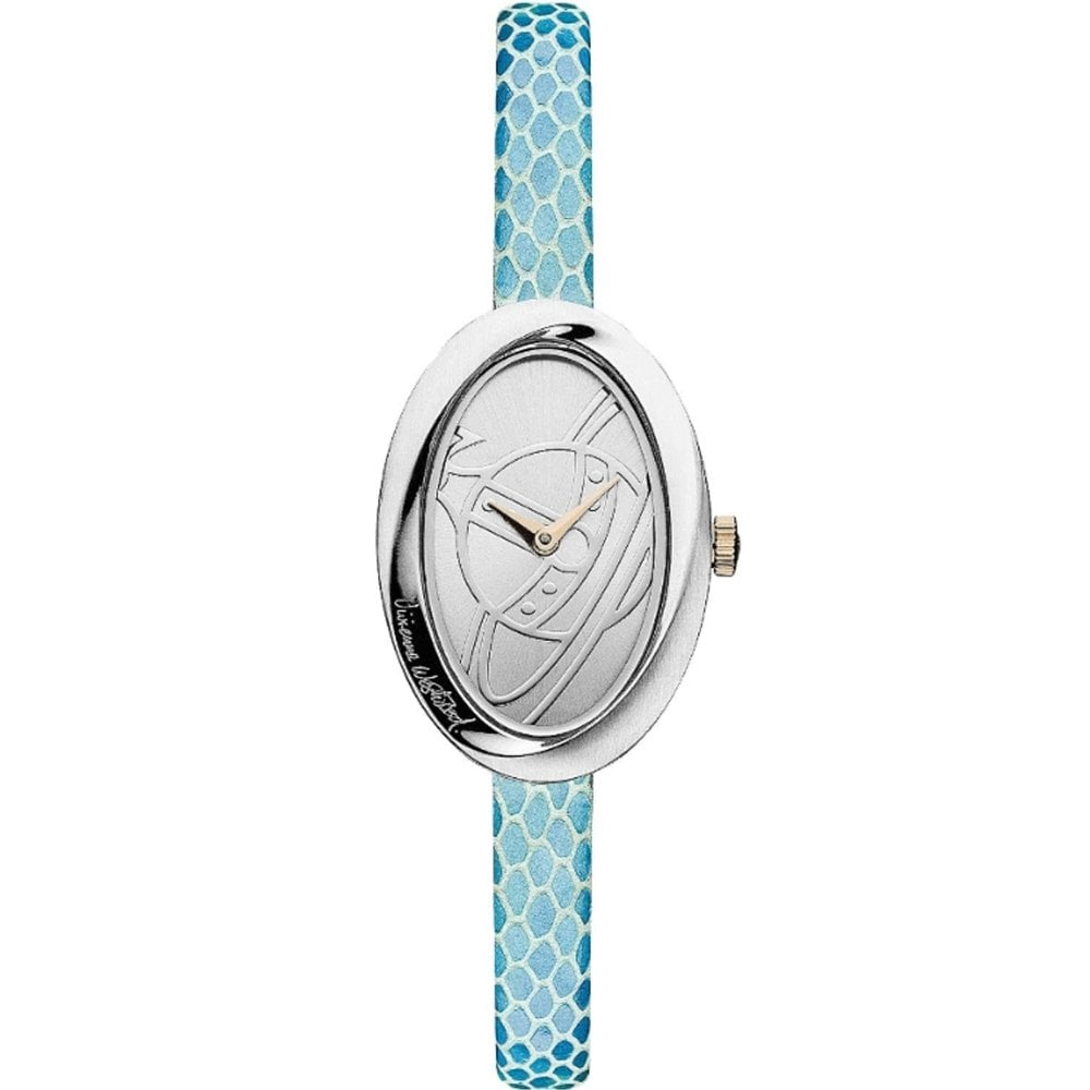 dc28bd6a06f Vivienne Westwood VV098SLBL The Twist Leather Watch available at Tic ...