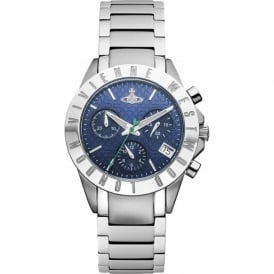 Vivienne Westwood VV099NVSL Westminster Navy & Silver Stainless Steel Ladies Watch