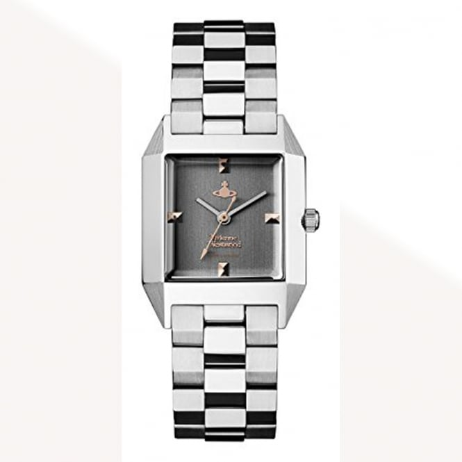 Vivienne Westwood Vivienne Westwood VV143GYSL Hatton Stainless Steel & Grey Ladies Watch