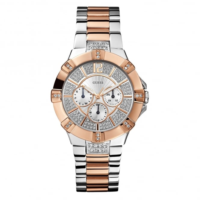 Guess W0024L1 Vista Two Tone Stainless Steel Ladies Watch
