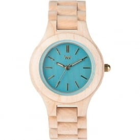 WeWood Antea Beige Blueberry Ladies Watch