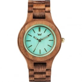 WeWood Antea Nut Mint Ladies Watch
