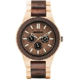 WeWood Kappa Choco & Cream Watch