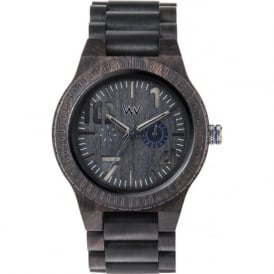 WeWood Oblivio Black & Blue Watch