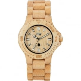 WeWood Date Beige Unisex Wooden Watch WDBEIGE