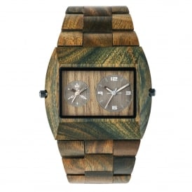 WeWood Jupiter RS Army Wooden Watch WJARMY