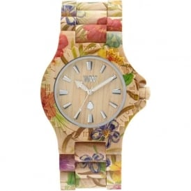 WeWood Date Flower Wooden Watch WDFLOWER