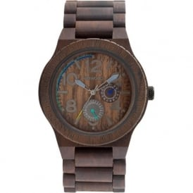 WeWood Unisex Kardo Chocolate Watch