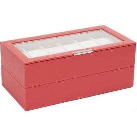 Wolf Designs Set of 2 Coral 12 Piece Watch Trays