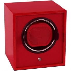 Wolf Designs Lacquered Cub Red Single Watch Winder 1.8