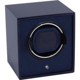 Wolf Designs Lacquered Cub Black & Blue Watch Winder 1.8