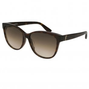 603e88caabd SLM23 K 002 58 Monogram Brown Havana Ladies Sunglasses New Arrival · Saint  Laurent ...